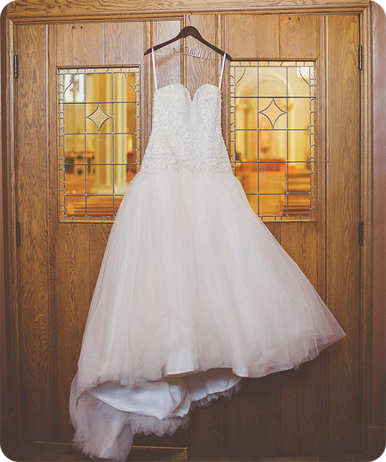 Wedding-gown-hanging